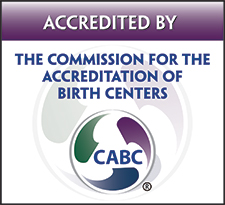 acreddited by the commision for the accreditation of birth centers cabc blossom birth center phoneix arizona