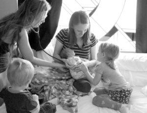 4 winters natural birth story at blossom birth center in phoenix arizona