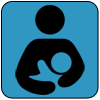 breastfeeding icon for blossom birth and wellness center resource page in phoenix arizona and surronding areas