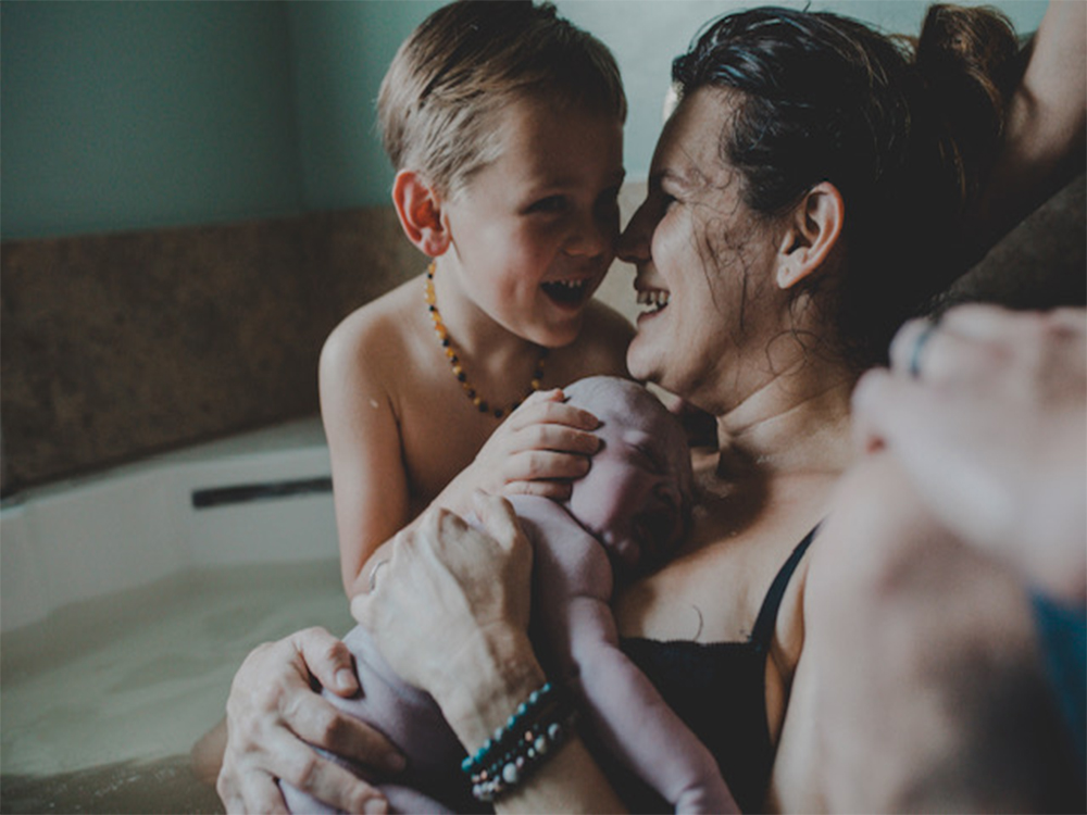 brits birth story featured image from blossom birth and wellness center in phoenix arizona